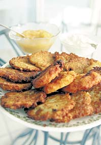 latke pancakes with platano recipe for hungry cat lovers