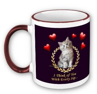 Personalized Cat Mug Gift Sample